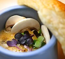 Champignon Soup With Pastry by SmoothBreeze7