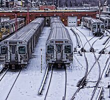 The Subway Yard by Moodycamera Photography