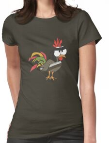 Tough Cock Womens Fitted T-Shirt
