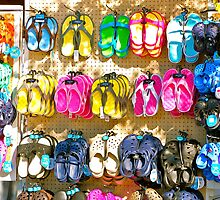 Sandals by Photography by TJ Baccari