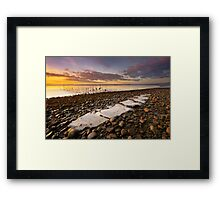 Cree Ice Sheets Framed Print