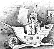 Away we sail  by melaniedann