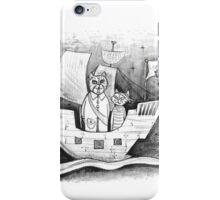 Away we sail  iPhone Case/Skin