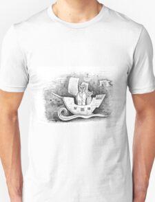 Away we sail  Unisex T-Shirt