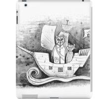 Away we sail  iPad Case/Skin