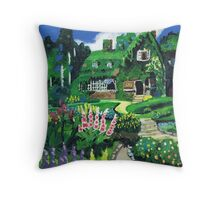 Kiki's Garden Throw Pillow