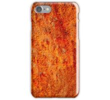 Burnt orange iPhone Case/Skin