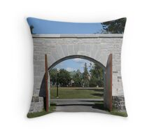 Historical Boundary Throw Pillow