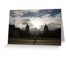Greenwich University Greeting Card