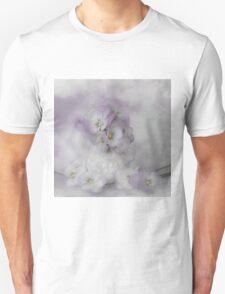 Pastel Pansies Still Life T-Shirt