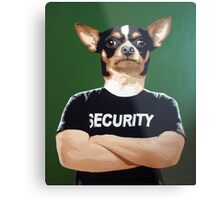 Barry the security guard Metal Print