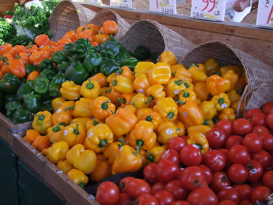 Peppers by George Cousins