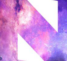 UNC Logo Galaxy Sticker