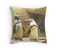 Can you stand the rain? Throw Pillow