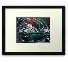 Northern Lights in Alaska Framed Print