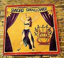 Sword Swallower by SuddenJim