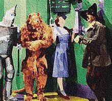 Waiting To Talk To Oz by Linda Miller Gesualdo