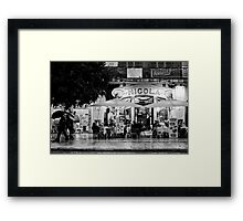 La terrasse Framed Print