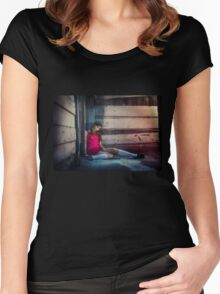 Street Doll  Women's Fitted Scoop T-Shirt