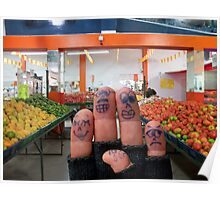Buying Fruits and Veggies Poster