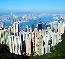Hong Kong Skyline by Joseph Cox