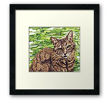 Annie with the crooked mouth Framed Print