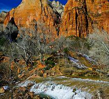 Zion Canyon The Patricarchs by photosbyflood
