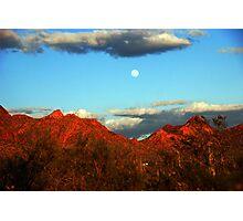 Arizona Moon Photographic Print