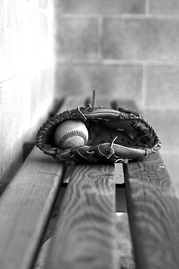 Baseball Still Life by schugirl