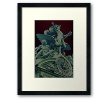 Angel Mercury Framed Print