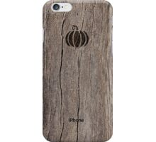 October Wood  iPhone Case/Skin
