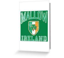 Mallow, Ireland with Shamrock Greeting Card