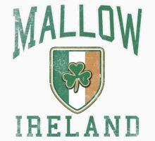 Mallow, Ireland with Shamrock One Piece - Short Sleeve