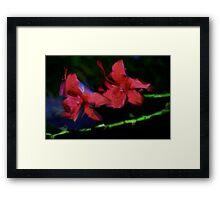 val flowers Framed Print