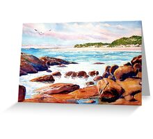 Margaret River Mouth, Western Australia Greeting Card