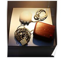First Computer Mouse was Wooden. Computer History Museum, Mountain View, California Poster
