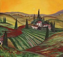 Tuscany dream by Dawn  Hawkins