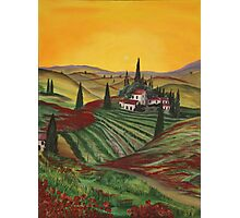 Tuscany dream Photographic Print