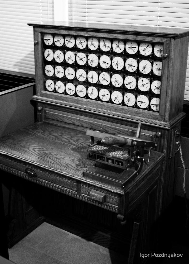Election Machine. Computer History Museum, Mountain view, California by Igor Pozdnyakov