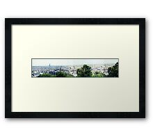 Panorama from Montmartre Framed Print