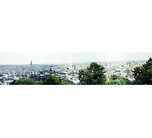 Panorama from Montmartre Photographic Print