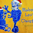 Robots Love Christmas by Clohn