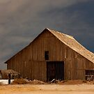 An Old Barn in Rural California by Buckwhite