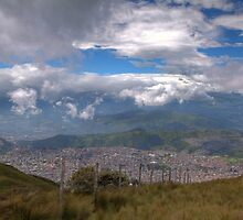 Quito - View from Cruz Loma by Paul Duckett