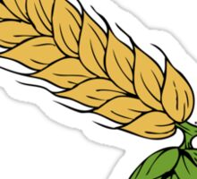 hops and barley Sticker