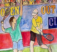 Tennis Strokes by Monica Engeler