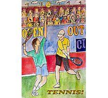 Tennis Strokes Photographic Print