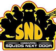Codename: Squids Next Door Design by RocketClauncher