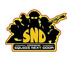 Codename: Squids Next Door Design Photographic Print