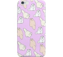Pastel Fat Cat  iPhone Case/Skin